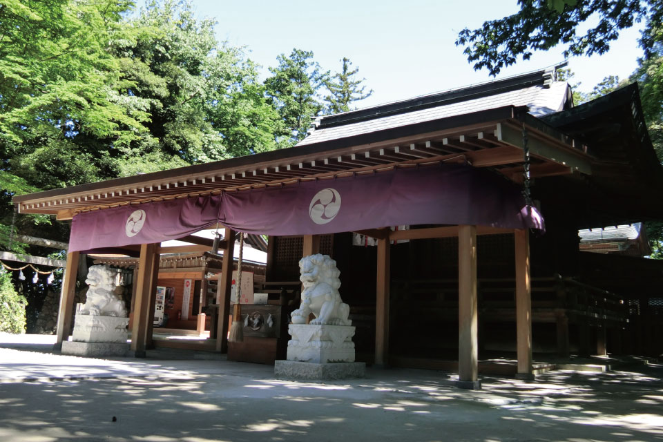 唐澤山神社社殿
